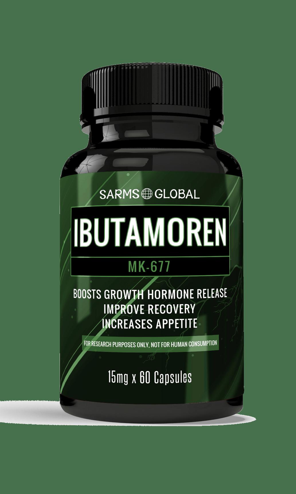 Ibutamoren MK-677 (60 Caps x 15 mg)